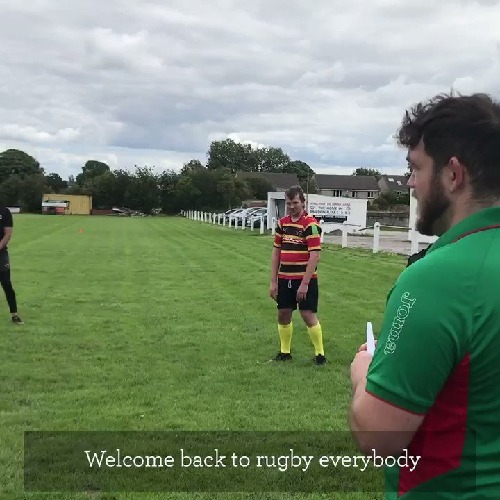 This is @BumblesRugby a mixed ability rugby team from Bradford. Coming soon, their #ReturnToRugby story...
