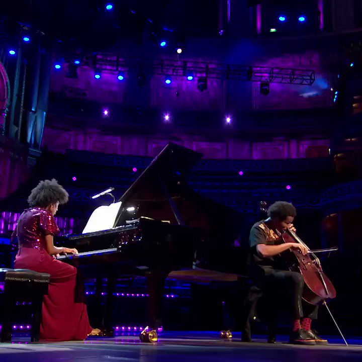 Watch @ShekuKM and @IsataKm in their first Prom together. Available on @BBCiPlayer until tomorrow night. Watch here: bbc.co.uk/iplayer/episod…