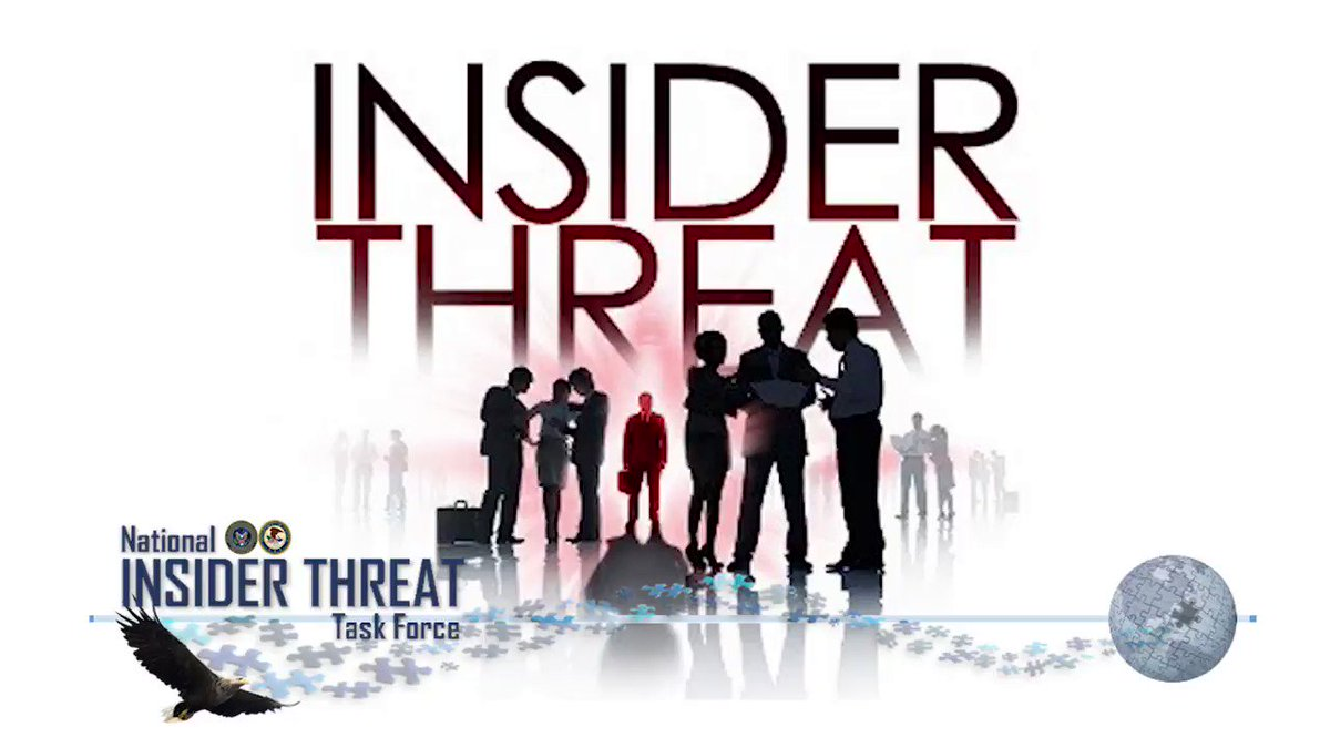 September is #InsiderThreatAwarenessMonth. Insider threats can undermine our national security. Do your part to keep your workplace safe by reporting any concerning behaviors to your leadership or security manager.