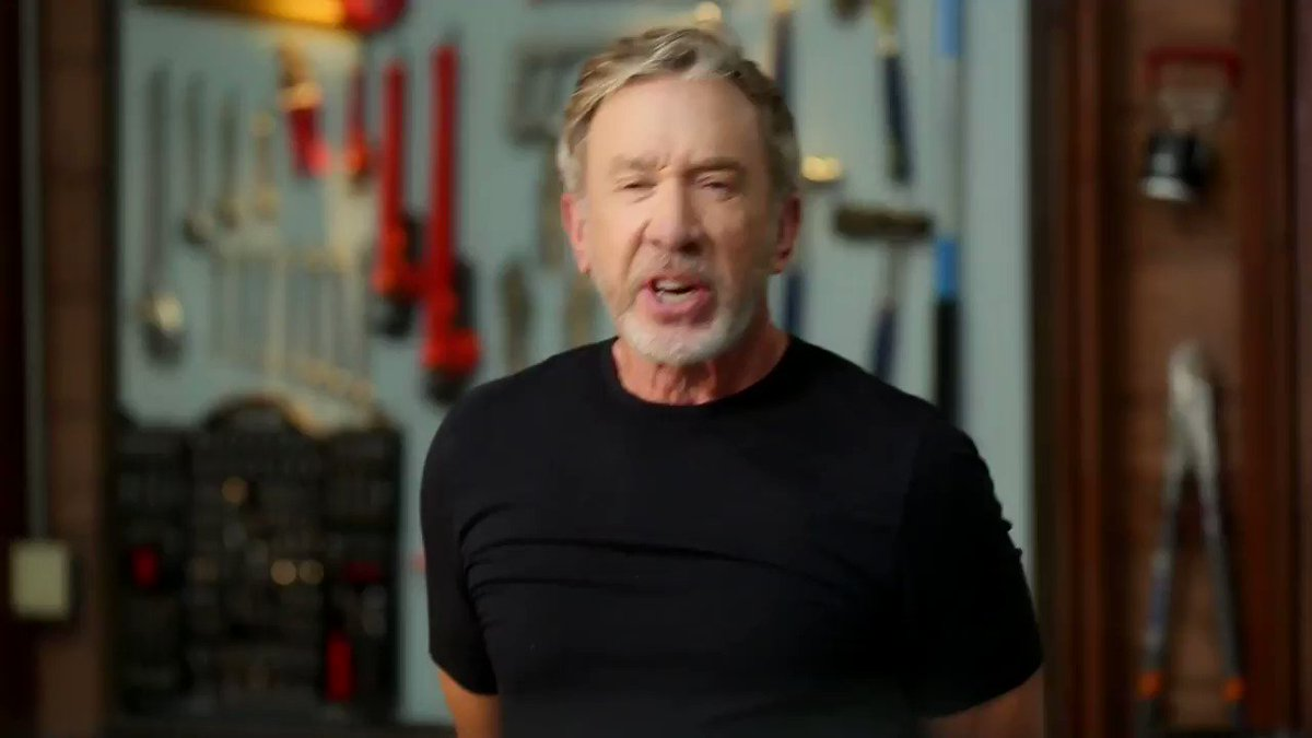 Tim Allen doesn't want to hear your excuses for not voting. Make sure to vote!