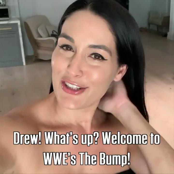 Image for the Tweet beginning: Nikki @BellaTwins' #DWTS pal @MrDrewScott