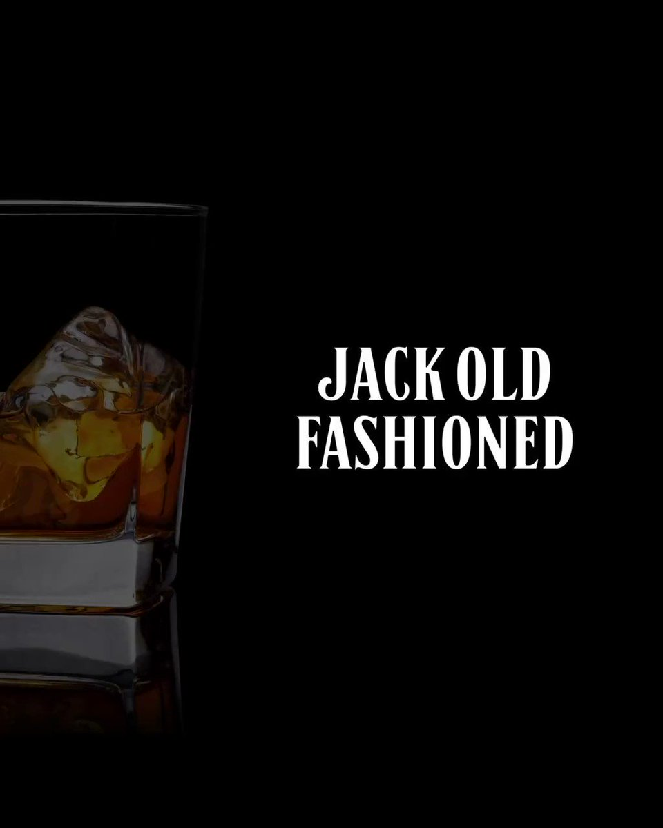 Image for the Tweet beginning: The classic Jack Old Fashioned
