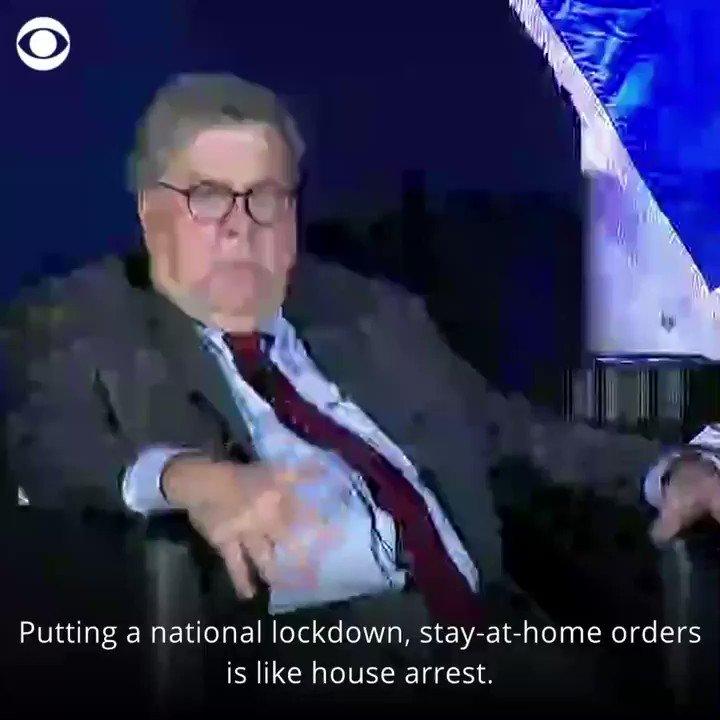 @CBSNews's photo on Bill Barr