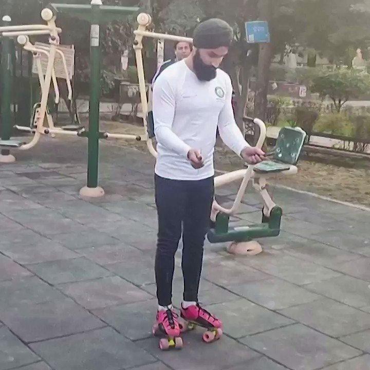 India's Zorawar Singh broke the #GuinnessWorldRecord with 147 skips on roller skates in 30 seconds