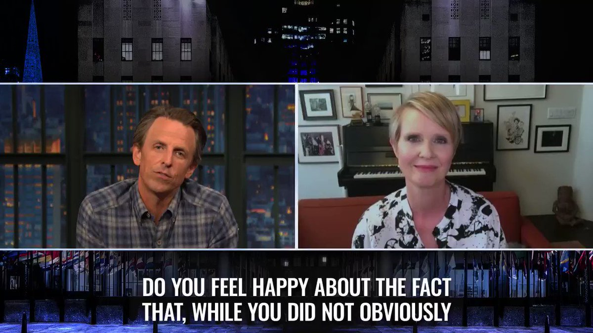 .@CynthiaNixon reflects on how much New York Democrats have accomplished since she ran for governor in 2018. https://t.co/2aL65tVjOV