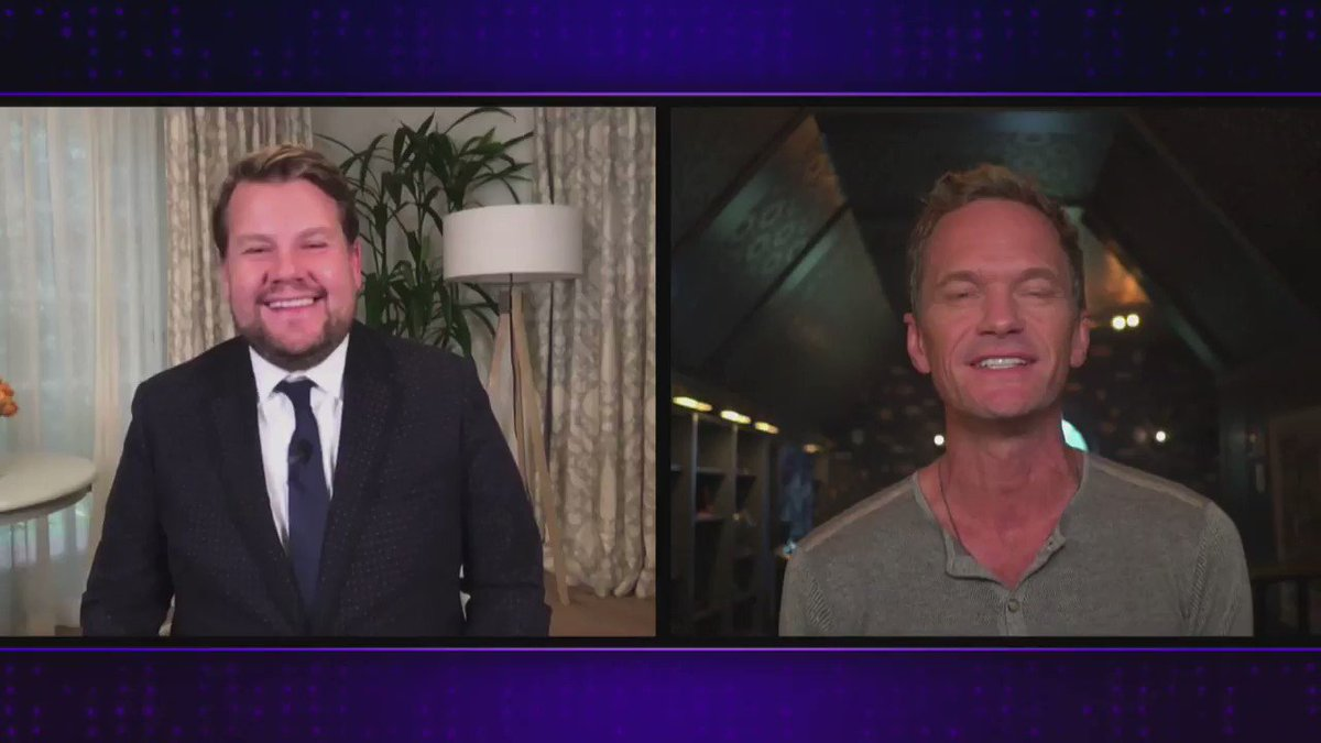.@ActuallyNPH tells the tale of his meet cute with hubby, @Davidburtka! #LateLateShow