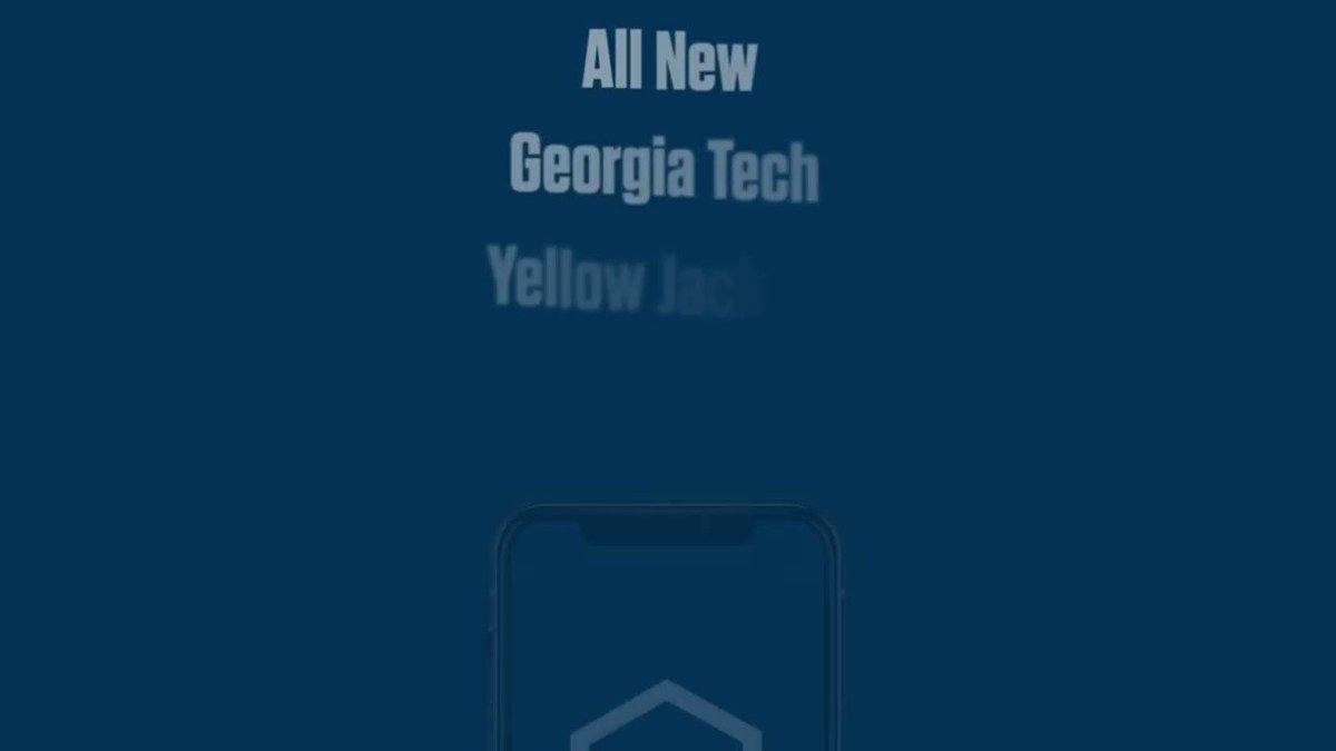 Don't miss a single minute of the action - download the new Georgia Tech Yellow Jackets App and listen to today's game with FREE live audio. Pre-game coverage starting at 10am. Download now: 📱 buzz.gt/new-app #TogetherWeSwarm /// #4the404