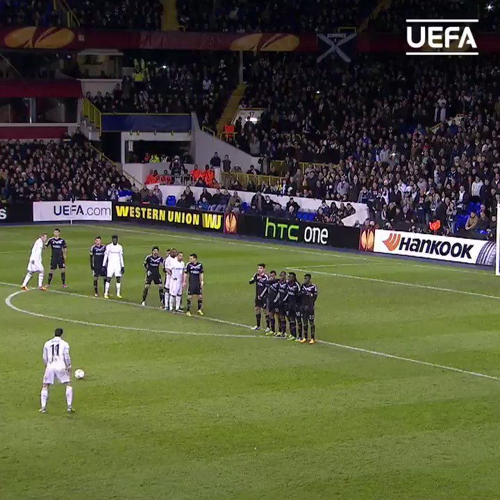 😎 Gareth Bale doing his thing for Tottenham back in the day...  @SpursOfficial | @GarethBale11 | #UEL https://t.co/V3ryBL0PJw