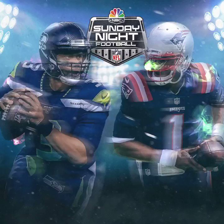 You know we're in for a treat when these two teams face off. @Patriots vs. @Seahawks TOMORROW on SNF.
