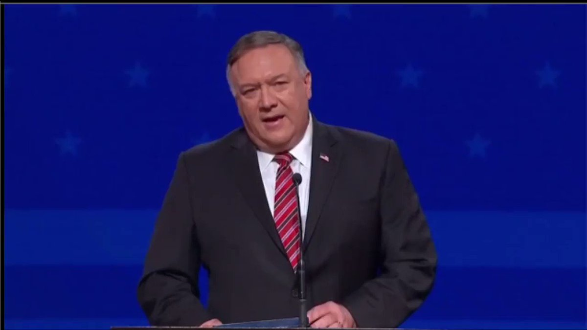 .@SecPompeo: There's no regime that rivals the horrors that are taking place in the world... than what the Chinese Communist Party is undertaking. https://t.co/pMGpboZfTT