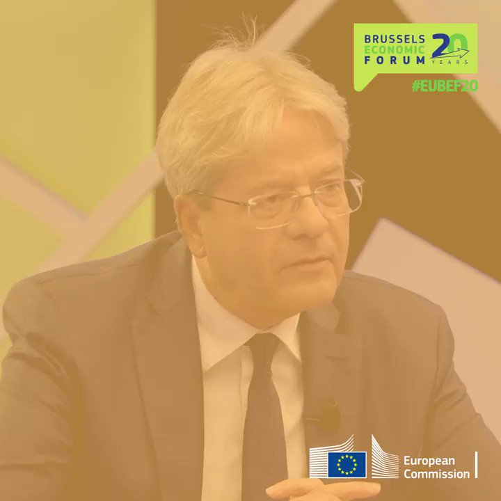 """""""What other international political actor, apart from the European Union, could play a leadership role in the green transition?""""  At #EUBEF20, Commissioner @PaoloGentiloni spoke about a social and green reboot after the #coronavirus crisis. Watch it here 👉https://t.co/gESYLBNJcz https://t.co/Koln0o6bl6"""
