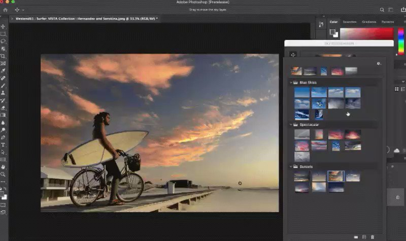Photoshop's sky replacement tool makes it easier to fake a perfect sunset