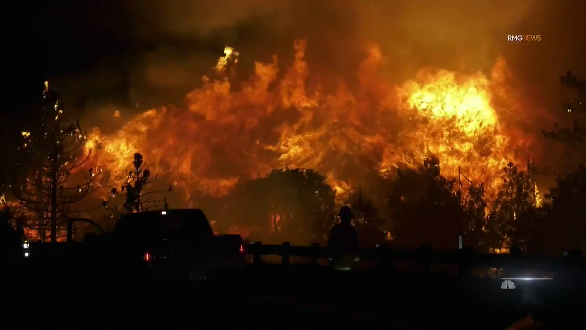 With wildfires burning across the West Coast, scientists say conditions are made worse by climate change.   @PattersonNBC has an in-depth look at what exactly is fueling the flames, and how families are forced to change the way they live as a result. https://t.co/zue7ILi4Sa