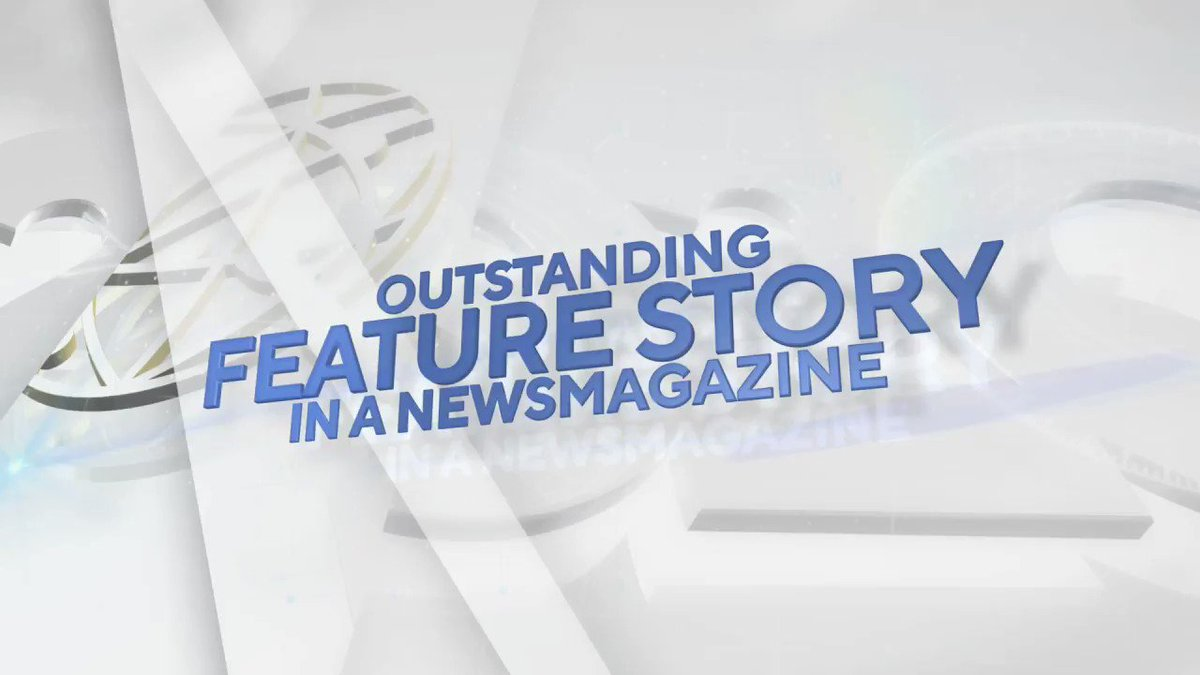 The #NewsEmmy Award in Feature Story in a Newsmagazine goes to... The Weekly │ @TheWeekly @FXNetworks https://t.co/4uDmAOHZi8