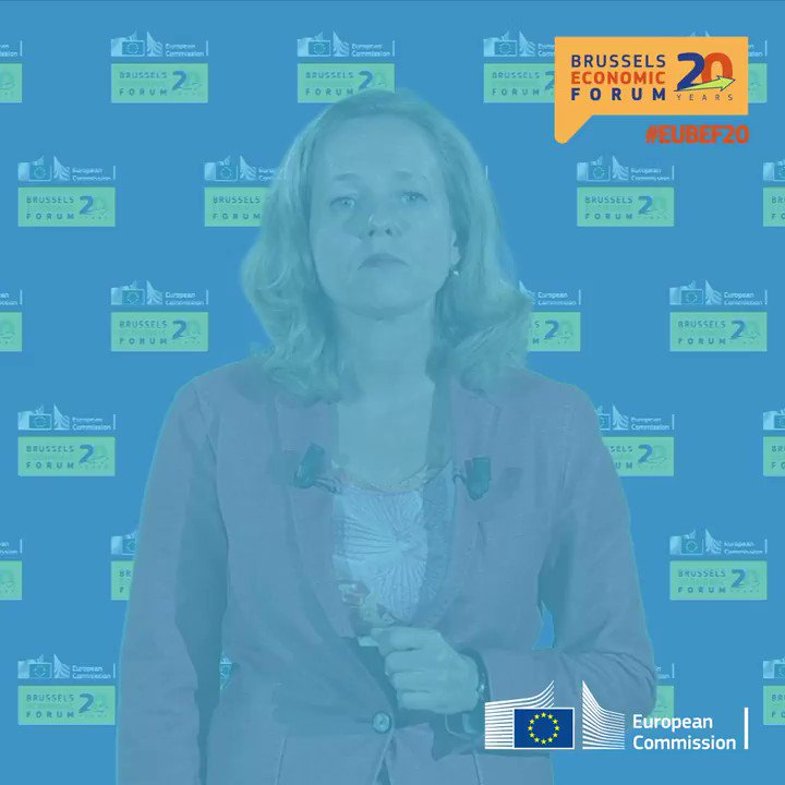 """""""With every challenge comes an opportunity""""  @NadiaCalvino, Spanish Minister of Economic Affairs and Digital Transformation, gave the opening address of #EUBEF20 and spoke about the transformation of our economies.  Watch the speech here → https://t.co/gESYLBNJcz https://t.co/mrbUcw1wI0"""