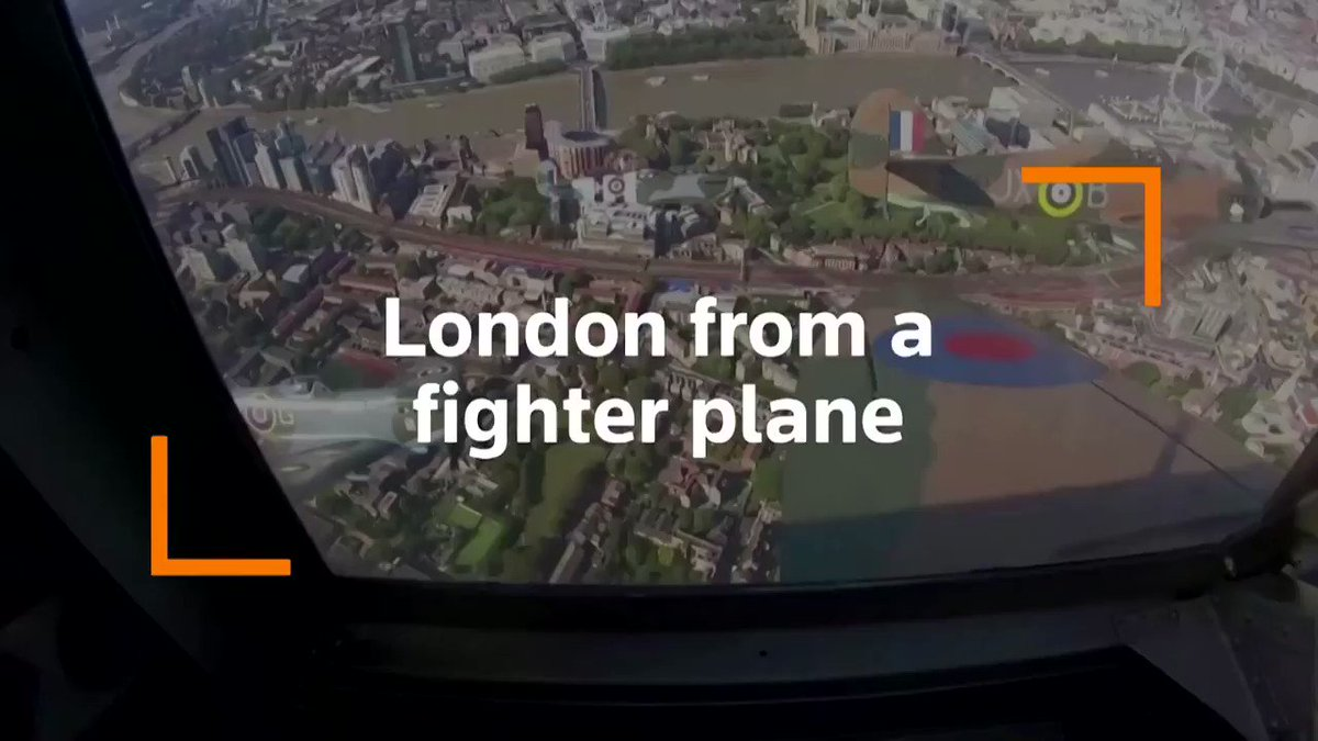 Stunning video shows London as seen from inside the cockpit of a WWII-era Spitfire https://t.co/GWycYTnyqm