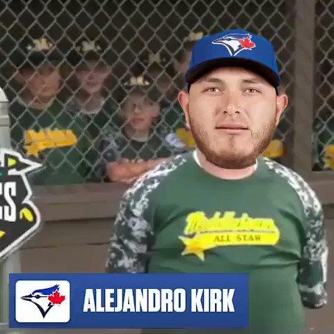 His name is Big Al, and he hits dingers. 💪 (h/t: @maddestswami) #BlueJays #AlejandroKirk