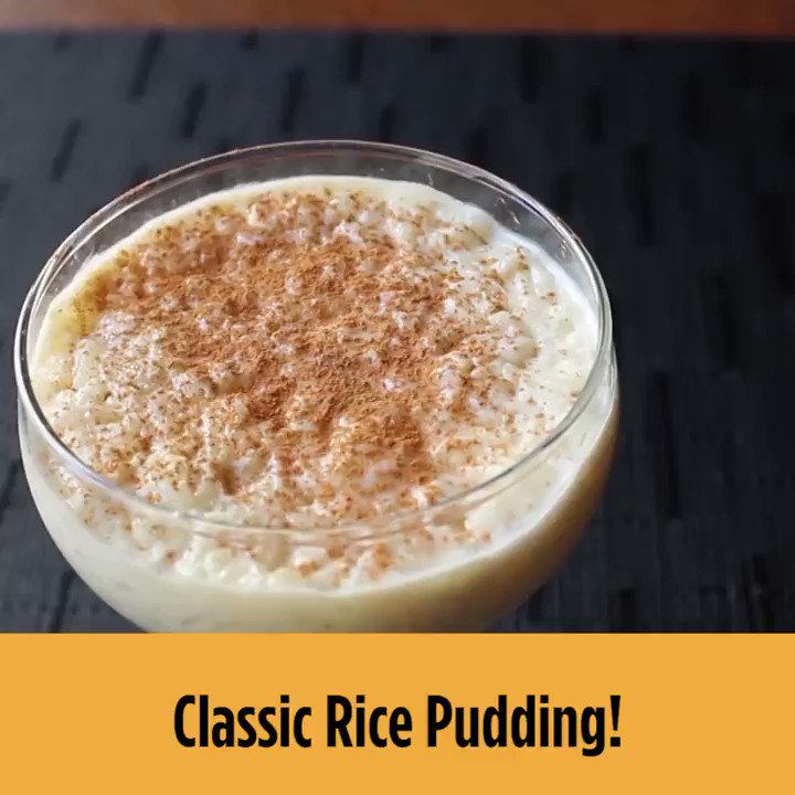 Image for the Tweet beginning: A sweet, creamy pudding with
