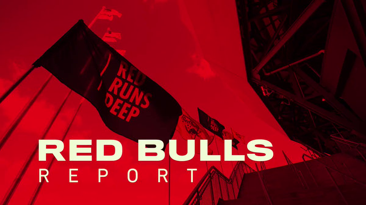 Following tonights match, another episode of Red Bulls Report on @MSGNetworks! #RedRunsDeep | #RBNY
