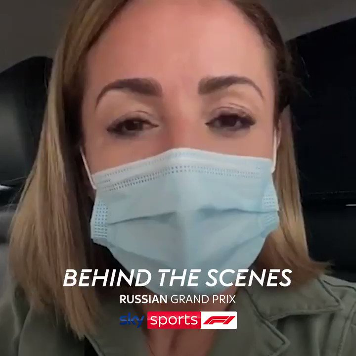 Make sure you're following the Sky Sports F1 Instagram account this week! 📲  @NataliePinkham will be taking over our stories to give a unique behind the scenes look at how we cover an F1 Grand Prix weekend.  #SkyF1 | #F1 | #RussianGP 🇷🇺