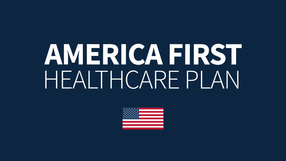 President @realDonaldTrump is committed to giving Americans high-quality healthcare choices at fair prices through his America First Healthcare Plan! 🇺🇸 https://t.co/W0u64ywCJ2
