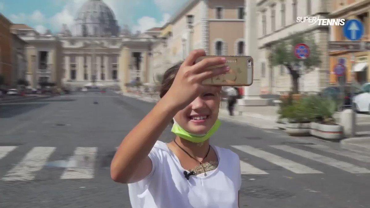 Domani alle ⏰17:15 appuntamento su @SuperTennisTv con Carola e Vittoria e la loro speciale giornata a Roma ospiti degli @InteBNLdItalia!  #stayFIT #tennis #IBI20 https://t.co/weZuVdjukf