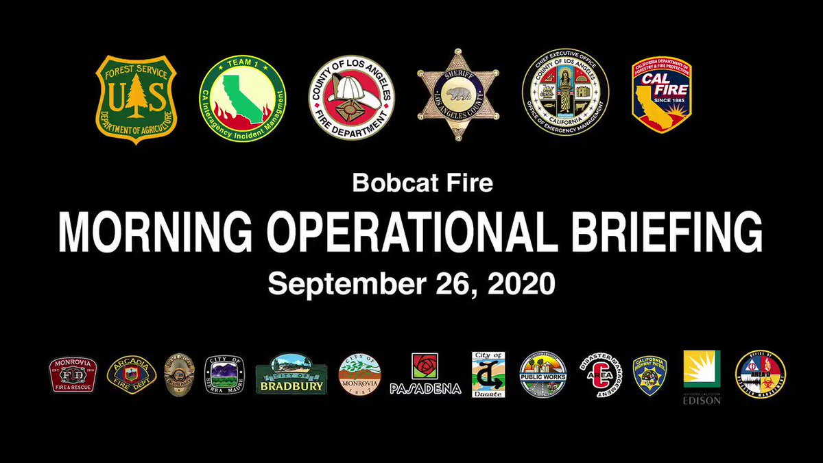 Image posted in Tweet made by L.A. County Fire Department on September 26, 2020, 5:38 pm UTC