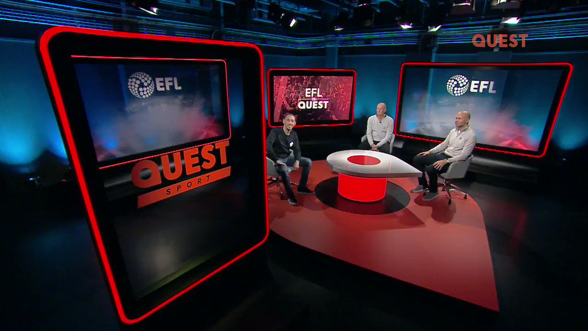 🕘 9pm ⚽️ @EFL on Quest 🗣️ @ColinMurray, @sammyparkin_ and Simon Grayson 📺 Freeview 12, Freesat 167, Sky 144, Virgin 169 #EFLonQuest - Saturdays at 9pm #EFL
