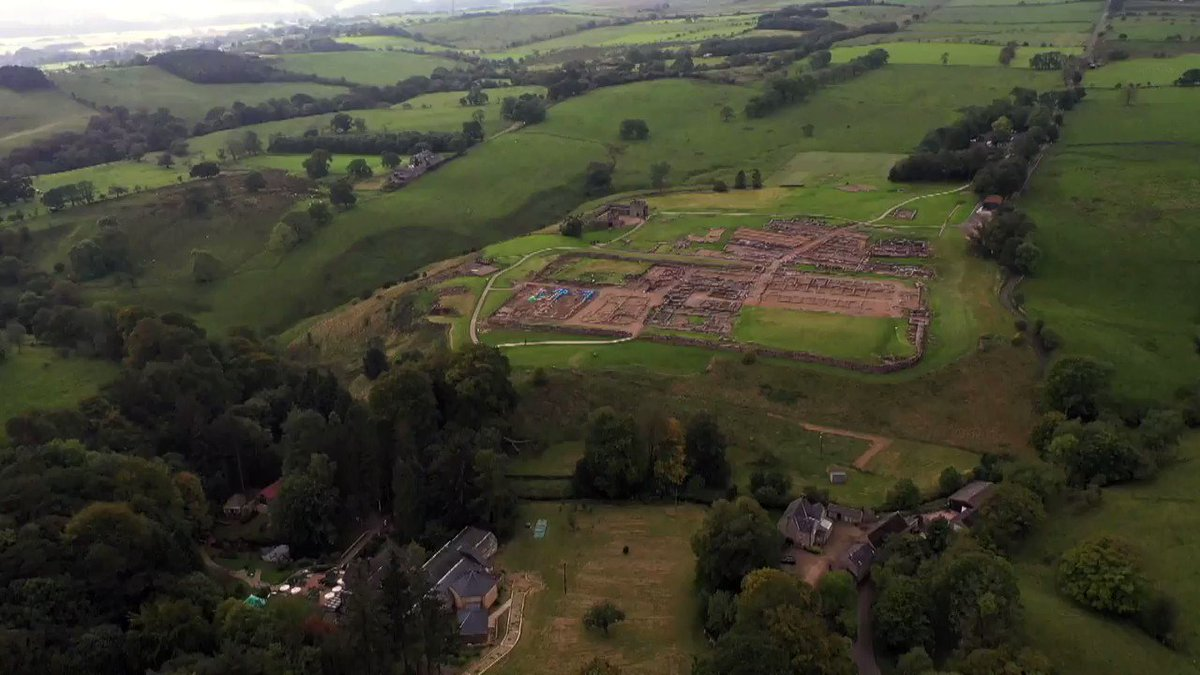 A great piece by @itvtynetees and @JuliaBarthram covering our excavations at Vindolanda.