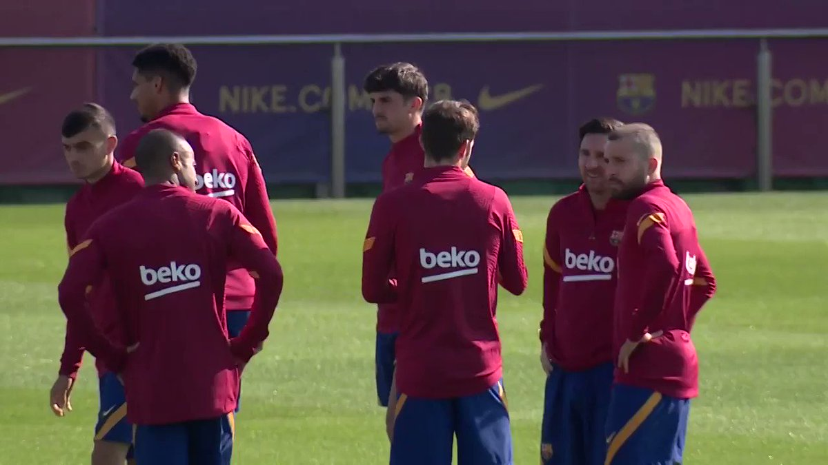 LIVE NOW! Barça's last workout ahead of #CeltaBarça!  WATCH ON BARÇA TV+! ▶️ https://t.co/v28AM27Zzq https://t.co/HtHRAXZZqm