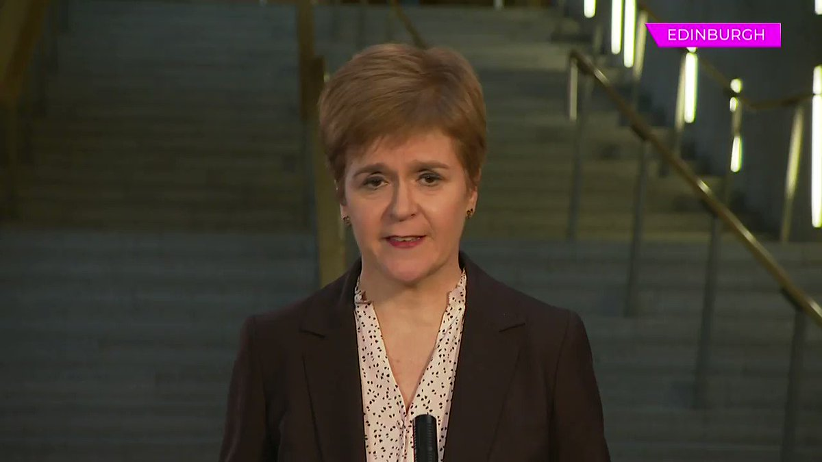 Its not best for people like me to give false assurances & issue guarantees about things several weeks ahead When asked about university students returning home at Christmas, First Minister @NicolaSturgeon tells @peston that she cant give a firm answer #peston
