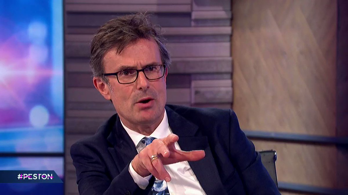 """""""I wasn't working with @theresa_may when she started that consultation and I wouldn't have agreed with her"""" When asked if Boris Johnson has made a mistake distancing himself from @theresa_may's views on self-identification, @NJ_Timothy states that he agrees with the PM #peston"""