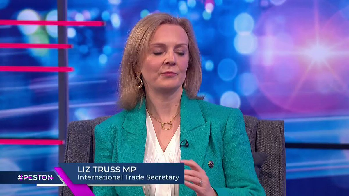 After the Prime Minister @borisjohnson confused his own #COVID19 rules, @peston asks @trussliz how others are expected to remember the new rules and regulations. She says that anyone can look up their local rules on the .gov website #Peston