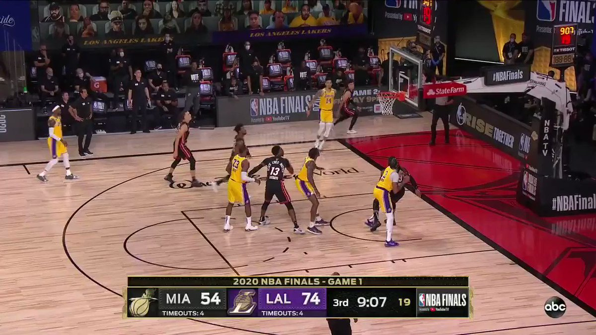 Nba Finals 2020 Game 1 Miami Heat V Los Angeles Lakers Live Sport Al Manara