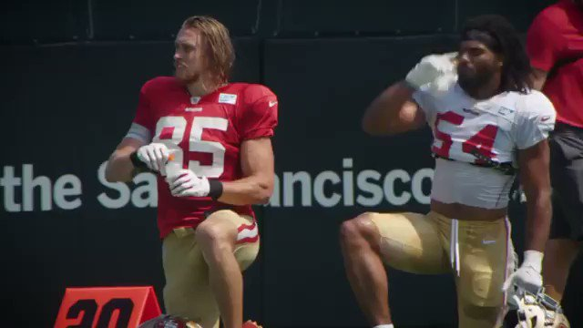Sk8er Boi by @AvrilLavigne, performed by a mic'd up @gkittle46. 😂😂    📽️: @AvrilLavigne