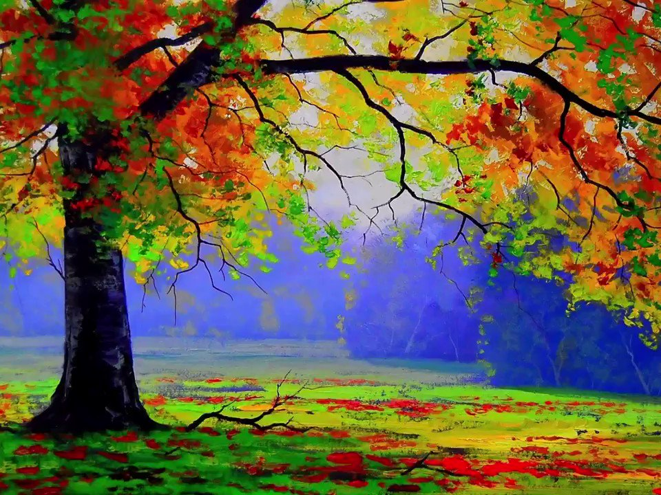 🎧 Winter is an etching❄️,        spring a watercolor,🌷      summer an oil painting🌼,        and autumn a mosaic of them all. 🧡 Stanley Horowitz Quote #Autumn 🍁 @saravastiares @CONTEMPRA_INN🌹