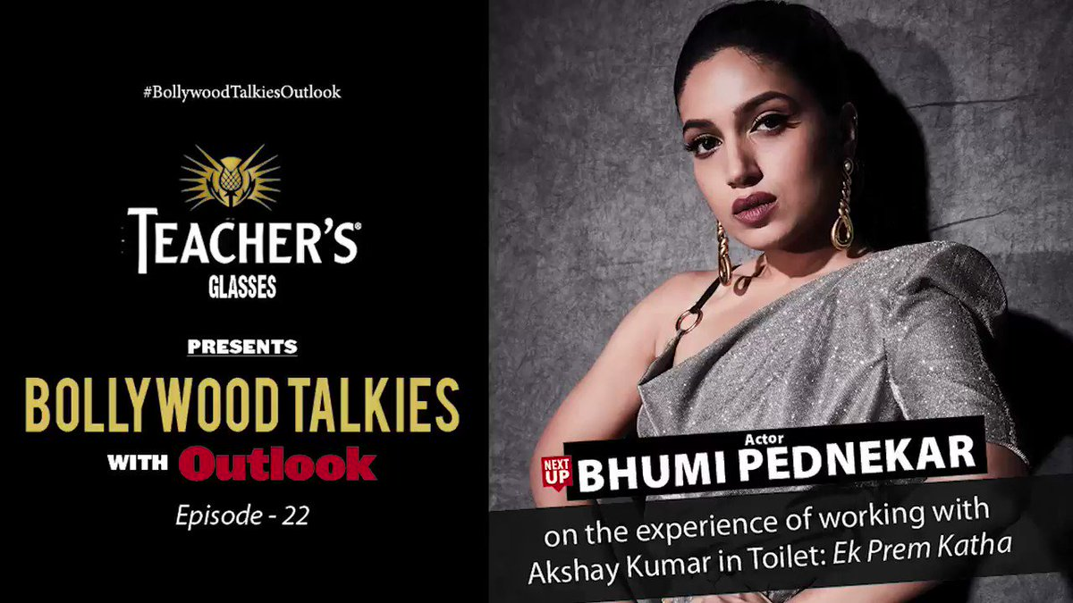 Teacher's Glasses presents #BollywoodTalkiesOutlook Ep22: watch @bhumipednekar talk about the experience of working with Akshay Kumar in Toilet: Ek Prem Katha, with author & columnist @mitrajitb. To watch the interview:   #LivewithOutlook #GenuineisRare