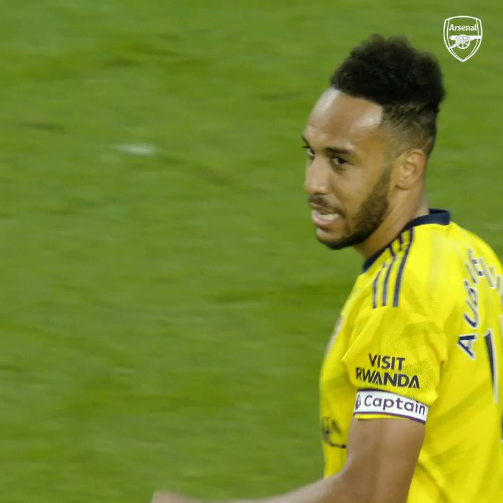 """💬 """"I am proud to be the latest black player to captain Arsenal.""""   ✊ @Aubameyang7"""