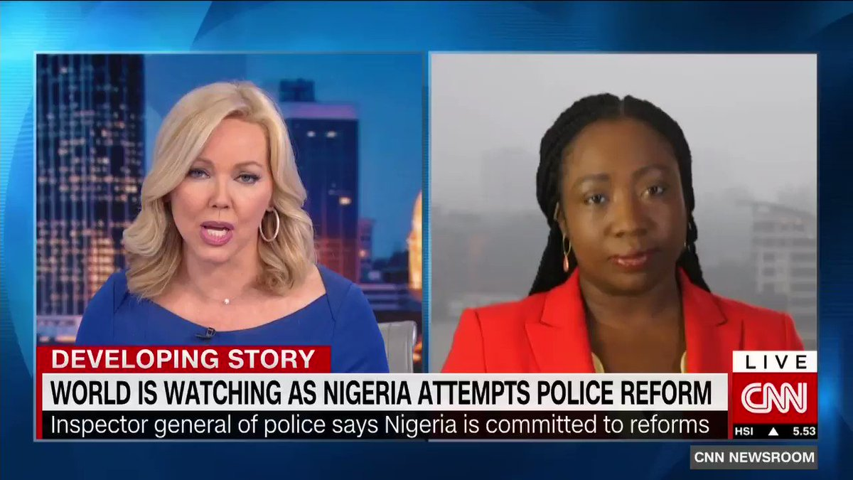 At least 10 protesters have died inNigeriaat ongoing protests against police brutality. An effort to reform the police unit from SARS to SWAT appears to be little more than a rebranding exercise. @StephanieBusari reports
