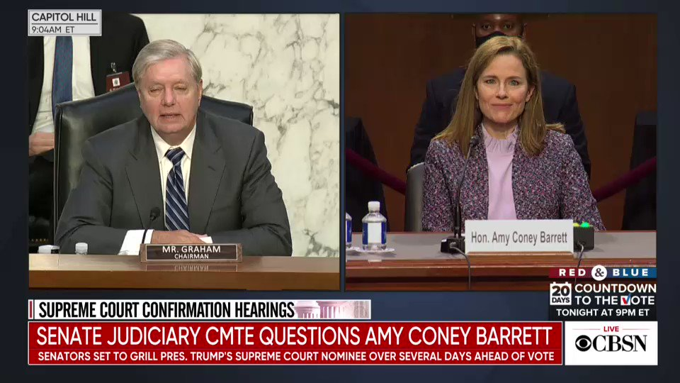 Lindsey Graham: Theres one group in America I think has had a hard time of it, and thats conservatives of color and women conservatives...This hearing, to me, is an opportunity to not punch through a glass ceiling, but a reinforced concrete barrier, around conservative women