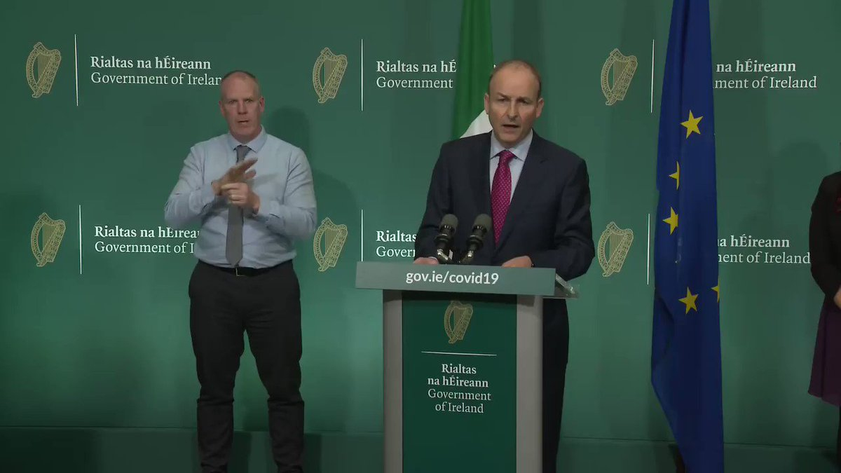 Taoiseach Micheál Martin confirms that counties Donegal, Monaghan and Cavan will be moving to Level 4 of Covid-19 restrictions.   Live updates: https://t.co/UhLze9SGVL https://t.co/ac4iMHVYF2