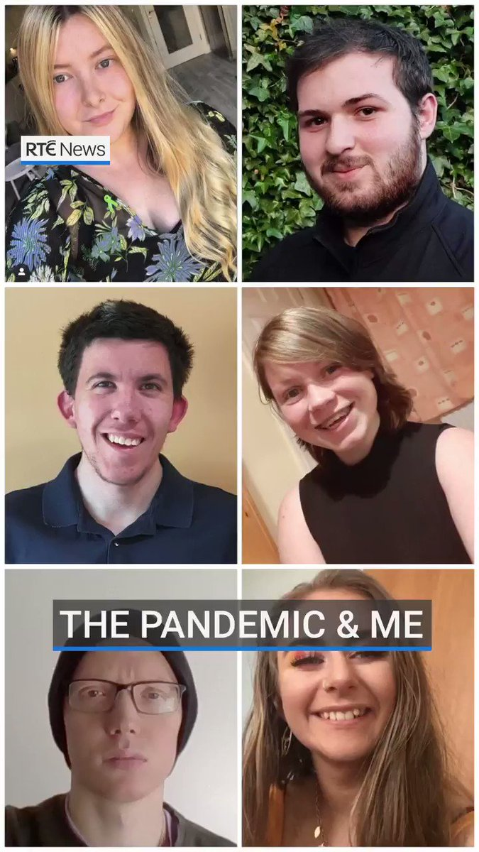 """Young people's lives have been turned upside down during the Covid-19 pandemic. We asked some of them to share their experiences with us as they learn to cope with """"the new normal"""". (Tap for best view on mobile) https://t.co/6fdUTDJHfu"""