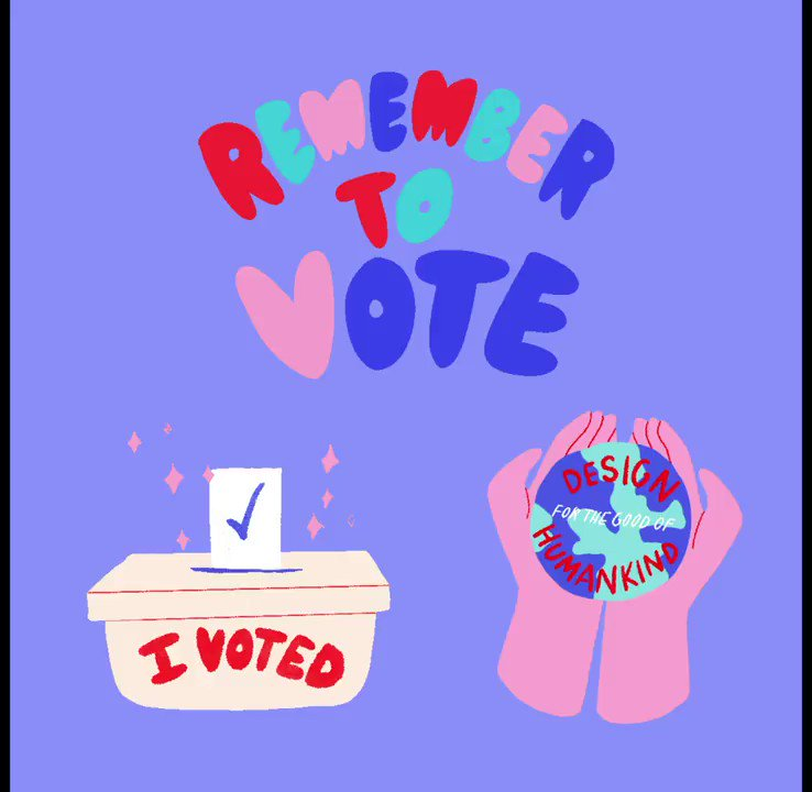 Psst! We're checking in. Have you voted yet? Are you making your plan? Voting is the best way for our voices to be heard—and we're using ours to remind you. We worked with illustrator Ludi Leiva to create these voting GIFs—share to your heart's content. https://t.co/xusHZbQwsu https://t.co/gzrtEScBb0