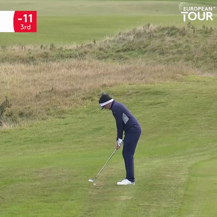 Pitch and stop 👌 @PepperellEddie has been making his move today. #AXAScottishChamps
