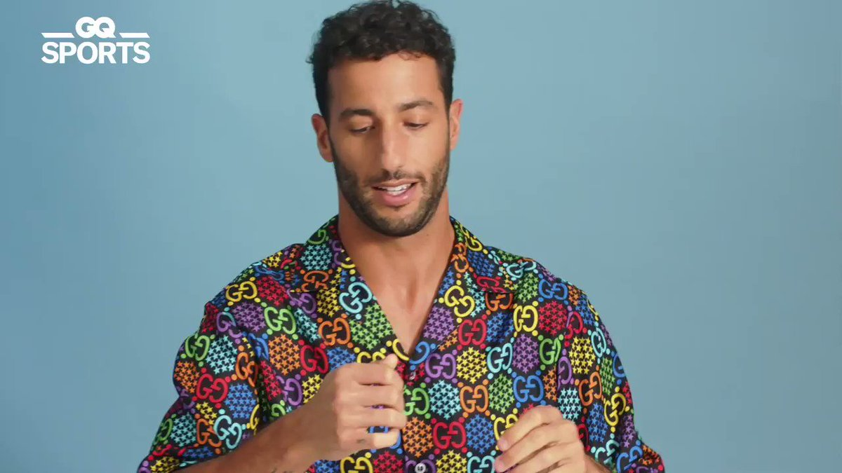 Here are 10 things Formula One driver @danielricciardo can't live without when he hits the road (no pun intended) #GQ10Essentials