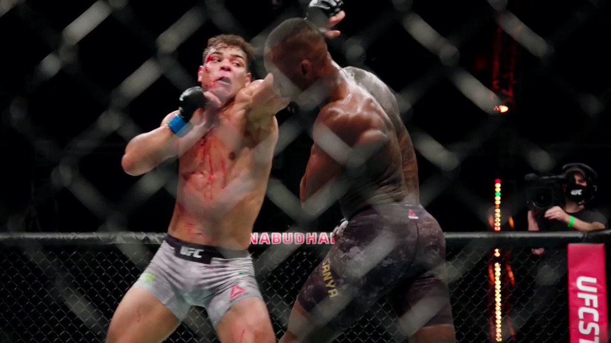 """""""I've been in wars. I'm accustomed to 'em""""  Our co-main event is guaranteed to be all action 😤  [ #UFC254 