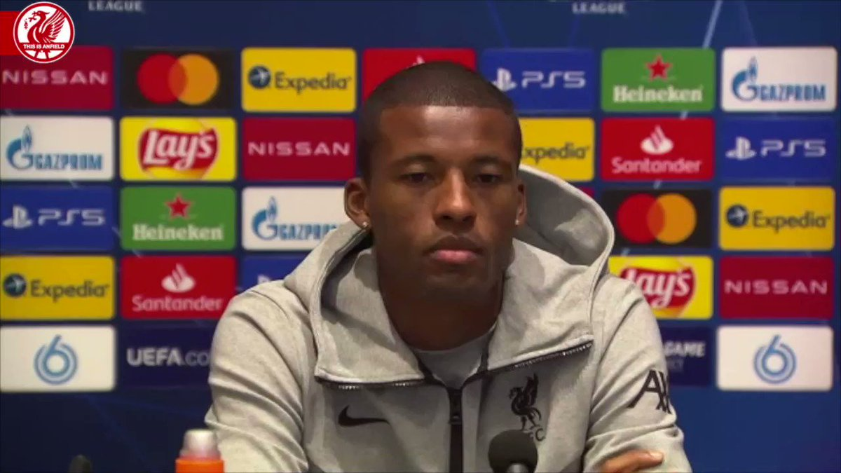 😠 🇳🇱 Gini is NOT happy. Wijnaldum goes in on stupid Pickford challenge and over the top Everton. 📺 Watch in full: thisisanfield.com/youtube