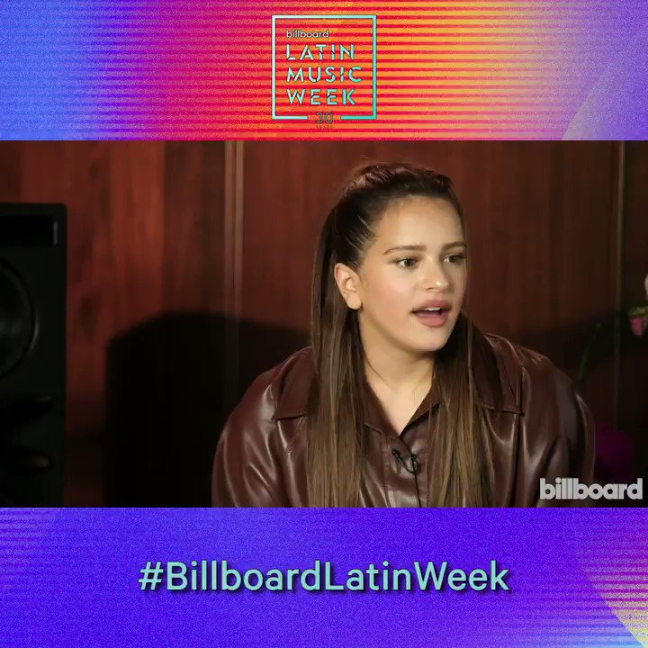 .@rosalia reflects on working with @Pharrell Williams and @chadhugo during the Cultural Crossings panel at #BillboardLatinWeek. Watch the full discussion here: blbrd.cm/Hh3nWQr