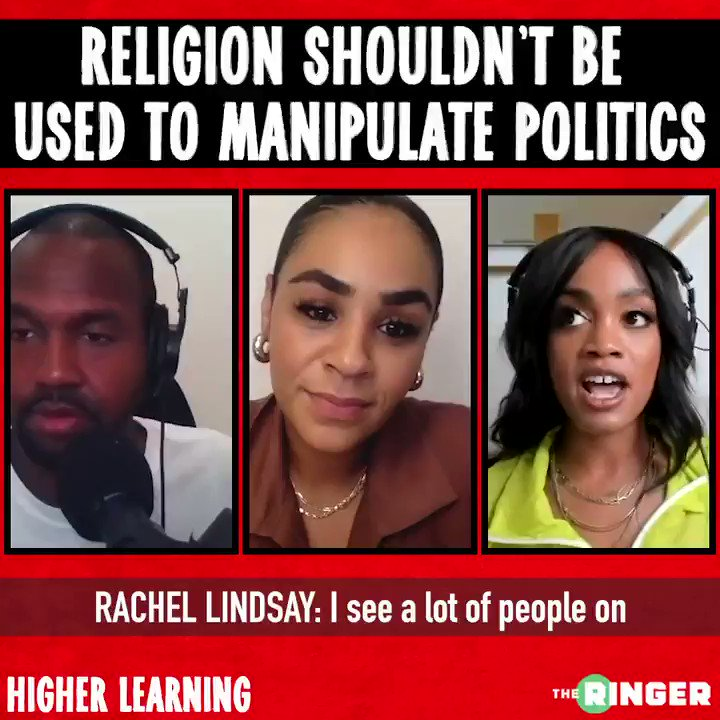 We have a lot of leaders that are manipulating the word. Natalie Manuel Lee joins @vanlathan and @TheRachLindsay on #HigherLearning to discuss faith and politics.