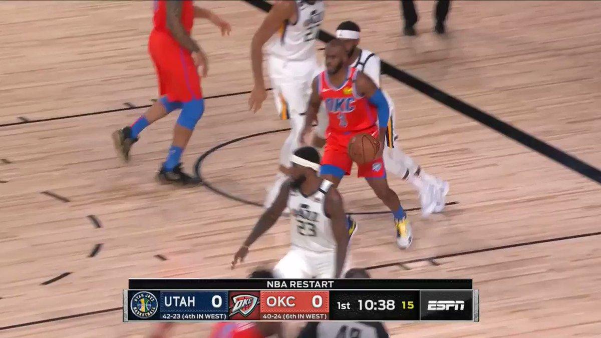 💥 Le migliori schiacciate del GALLO durante l'NBA Restart!!  🇮🇹 @gallinari8888 | @okcthunder  #NBARestart REWIND!  #NBA | #WholeNewGame https://t.co/oJsVuDWLsa